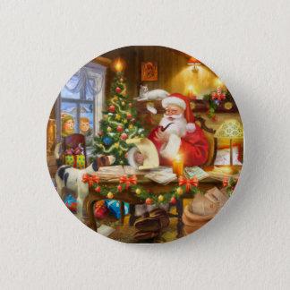 Cute holiday Christmas Standard Knapp Rund 5.7 Cm