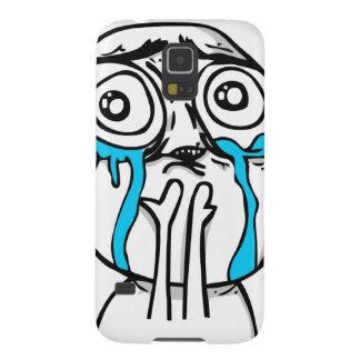 Cutenessöverbelastningstecknad Meme Galaxy S5 Fodral