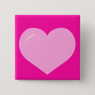 Cutie kärlek standard kanpp fyrkantig 5.1 cm