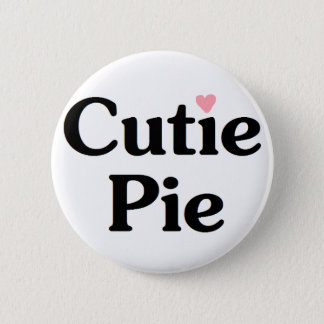 Cutie paj standard knapp rund 5.7 cm
