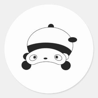 Cutie Panda Runt Klistermärke