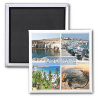 CY * Cypern - Ayia Napa Magnet