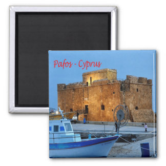 CY - Cypern - Pafos - forte- Byzantine Magnet