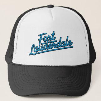 cyan Fort Lauderdale Truckerkeps