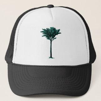 Cyan palmträd 2 de MUSEUMZazzle gåvorna Keps