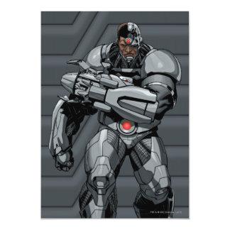 Cyborg 12,7 X 17,8 Cm Inbjudningskort