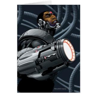 Cyborg- & vapenbyst hälsningskort