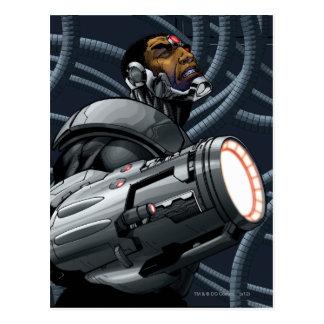 Cyborg- & vapenbyst vykort