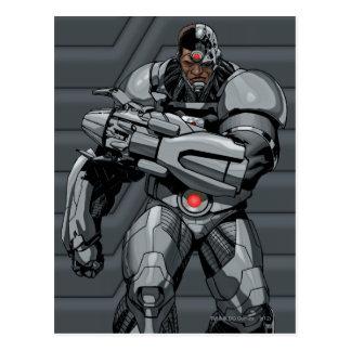 Cyborg Vykort
