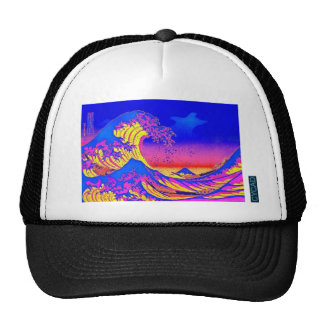 CYCADunderbaren vinkar av den Kanagawa hatten Keps