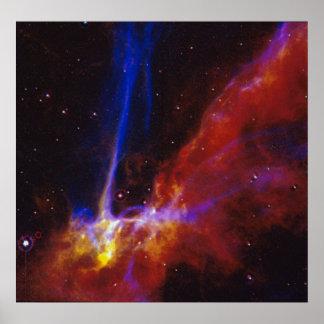 Cygnusen kretsar Supernovakvarleva Poster