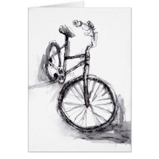 Cykel Hälsningskort