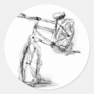 Cykel II Runt Klistermärke