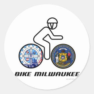 Cykel Milwaukee Runt Klistermärke