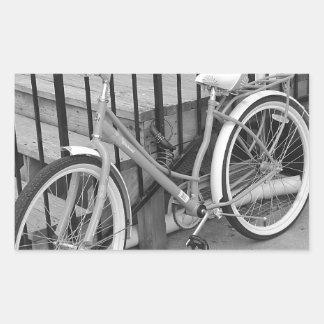 Cykel Rektangulärt Klistermärke