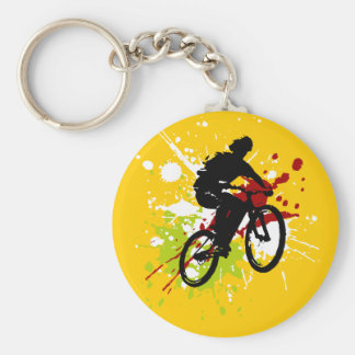 Cykel Rund Nyckelring