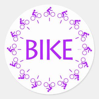 Cykel Runt Klistermärke