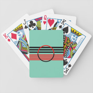 Cykel som leker kort med modart décodesign spelkort