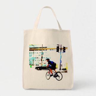 Cykelbudbärare Mat Tygkasse