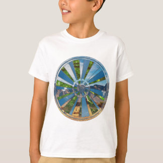 CykelMandala T Shirt