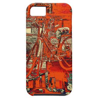cykeln drömm collageiphone case iPhone 5 skal