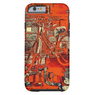 cykeln drömm collageiphone case tough iPhone 6 fodral
