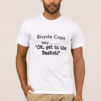 Cykeln haffar något att säga tee shirt