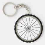 Cykeln rullar nyckelringar