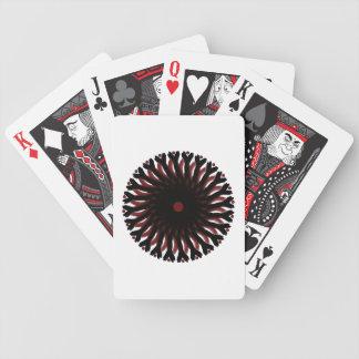 Cykeln som leker kort RED/BLACK, CIRKLAR SOLEN Spelkort