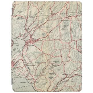 Cykelvägar i New York och Connecticut 2 iPad Skydd