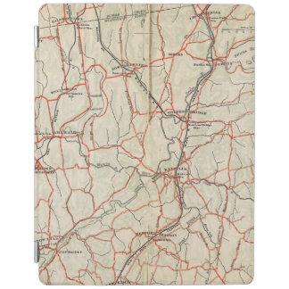 Cykelvägar i New York och Connecticut 4 iPad Skydd