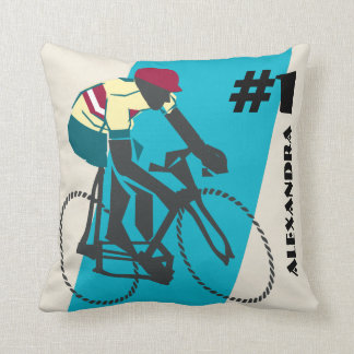 Cykla (blått) kudde