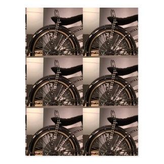 Cykla cykelkonst som den grafiska decomallen vykort