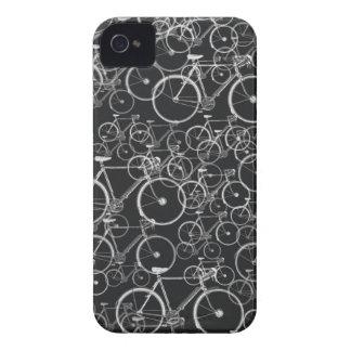 cykla för ~ för svartcykelmönster Case-Mate iPhone 4 case