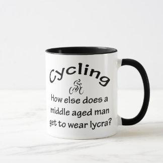 Cykla manen mugg