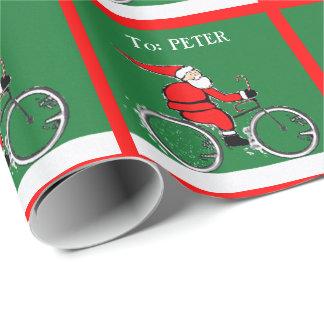 Cykla Santa Presentpapper