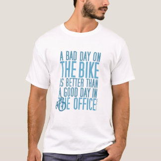 Cykla T-skjortan - en dåligadag i kontoret… T Shirt