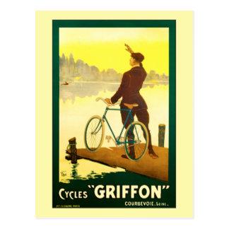 Cyklar Griffon vid den Walter thoren Vykort