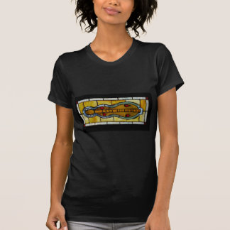 cymbal-befläckt exponeringsglas t shirts