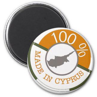 CYPERN 100% VAPENSKÖLD MAGNET