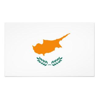 Cypern - cypriotisk medborgareflagga fotokonst