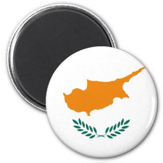 Cypern flagga CY Magnet