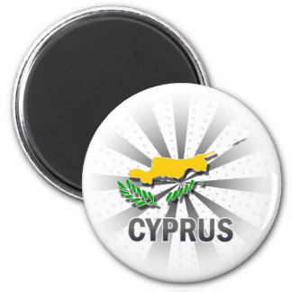 Cypern flaggakarta 2,0 magnet