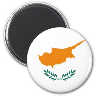 Cypern flaggamagnet magnet