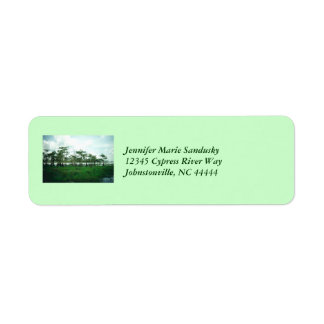 Cypress vaktpostetiketter returadress etikett