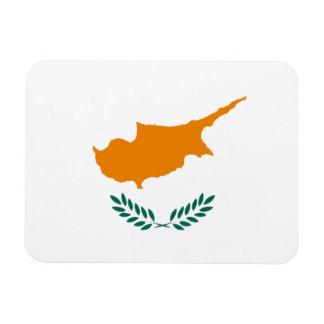 Cypriotisk flagga magnet