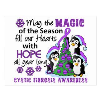 Cystic Fibrosis för julpingvin Vykort