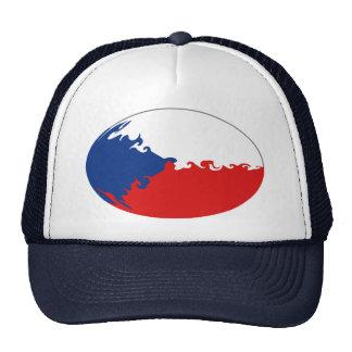Czechia Gnarly flaggahatt Kepsar