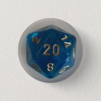 D20 knäppas mini knapp rund 3.2 cm