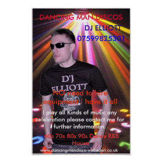 d4 som DANSAR MANDISKON DJ ELLIOTT 07599825301… Print